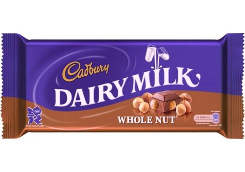 Cadbury Cadbury Whole Nut 120g 16tb
