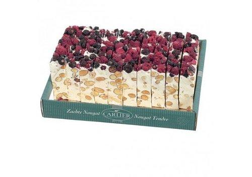 Carlier nougat cake Cranberry 180g 11st