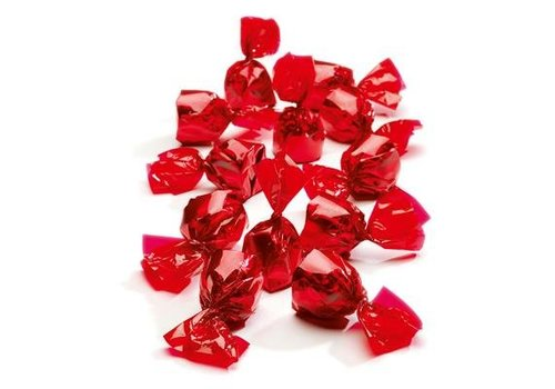 Kersenbonbons toef rood 3kg