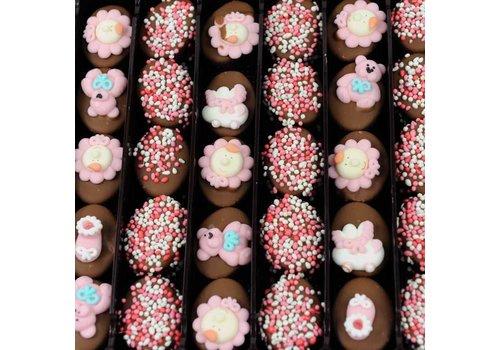 Geboorte Bonbons rose 1,1kg