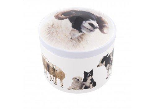 Gardiners Farm Animals Tin vanilla 200g 12bl