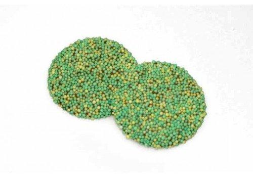 Paas musketflikken groen/geel 8g 2,5kg