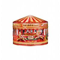 Carousel Tin 400g Vanilla Fudge & Toffee 12bl