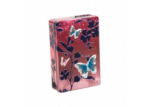 Churchill's Butterflies Pink Biscuits tin 300g 12bl.