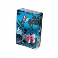 Butterflies Blue Biscuits tin 300g 12bl.