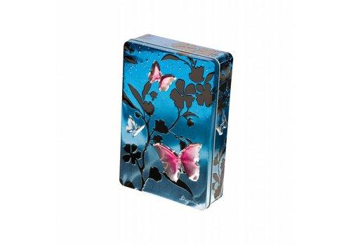 Churchill's Butterflies Blue Biscuits tin 300g 12bl.