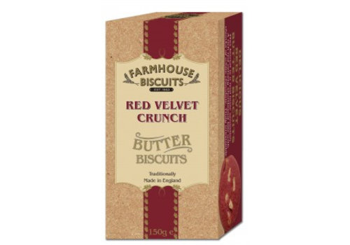 Biscuits Luxery Red Velvet Crunch 150g 12st