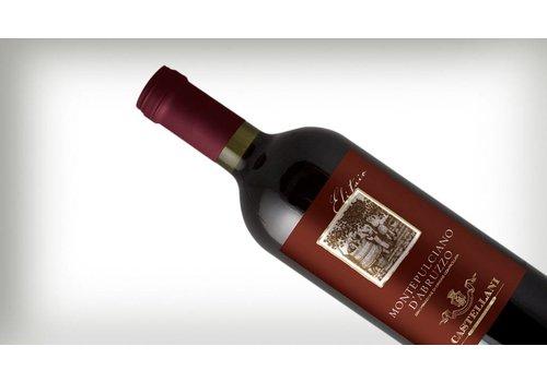 """Montepulciano d'Abruzzo Elitaio doc 12% """"Castellani""""0,75L"""