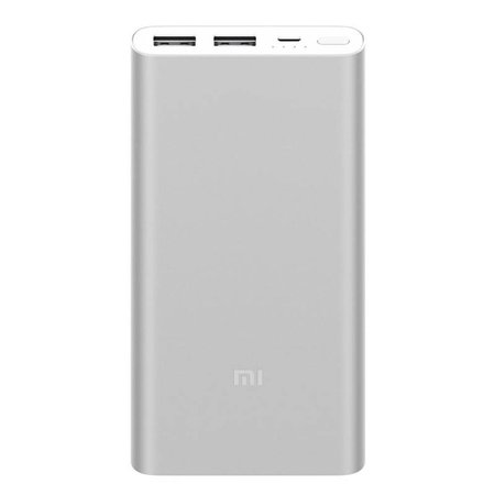 Xiaomi XIAOMI Power Bank Dual USB 10000 mAh - Zilver