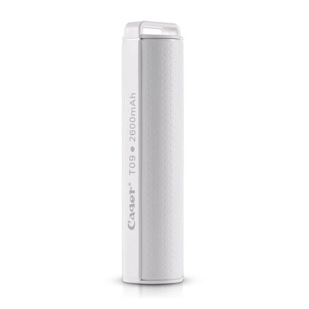 Cager CAGER Compacte Powerbank 2600 mAh - Wit