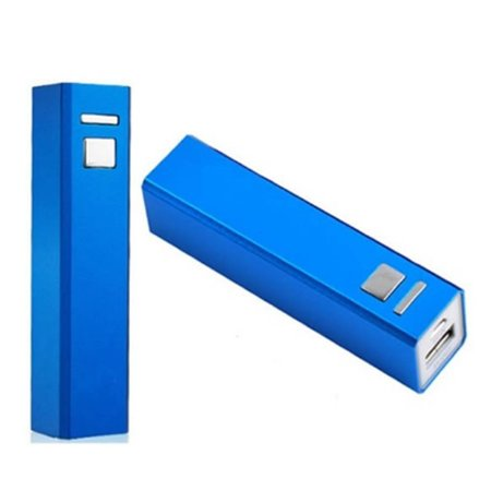 Mini Powerbank 2600 mAh - Blauw
