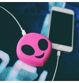 Roze Alien Emoji Powerbank 3600 mAh
