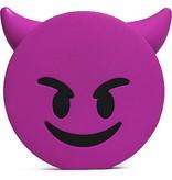 Lachende Drol Emoji Powerbank 3600 mAh - Lichtroze