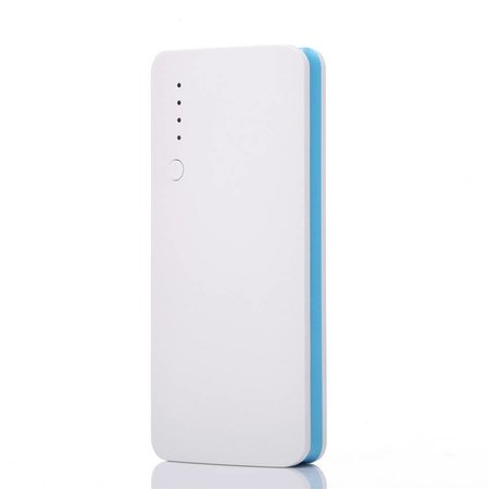 Megacapaciteit Powerbank 20000 mAh - Wit / Blauw