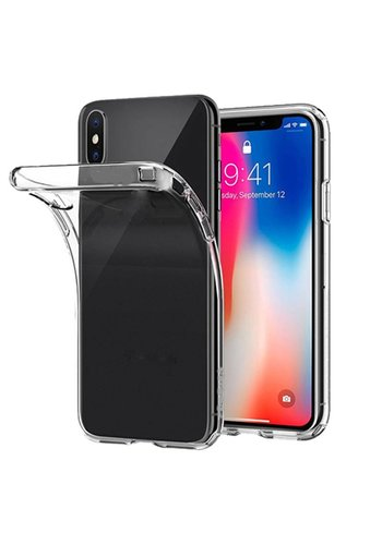 Transparant TPU Hoesje iPhone X