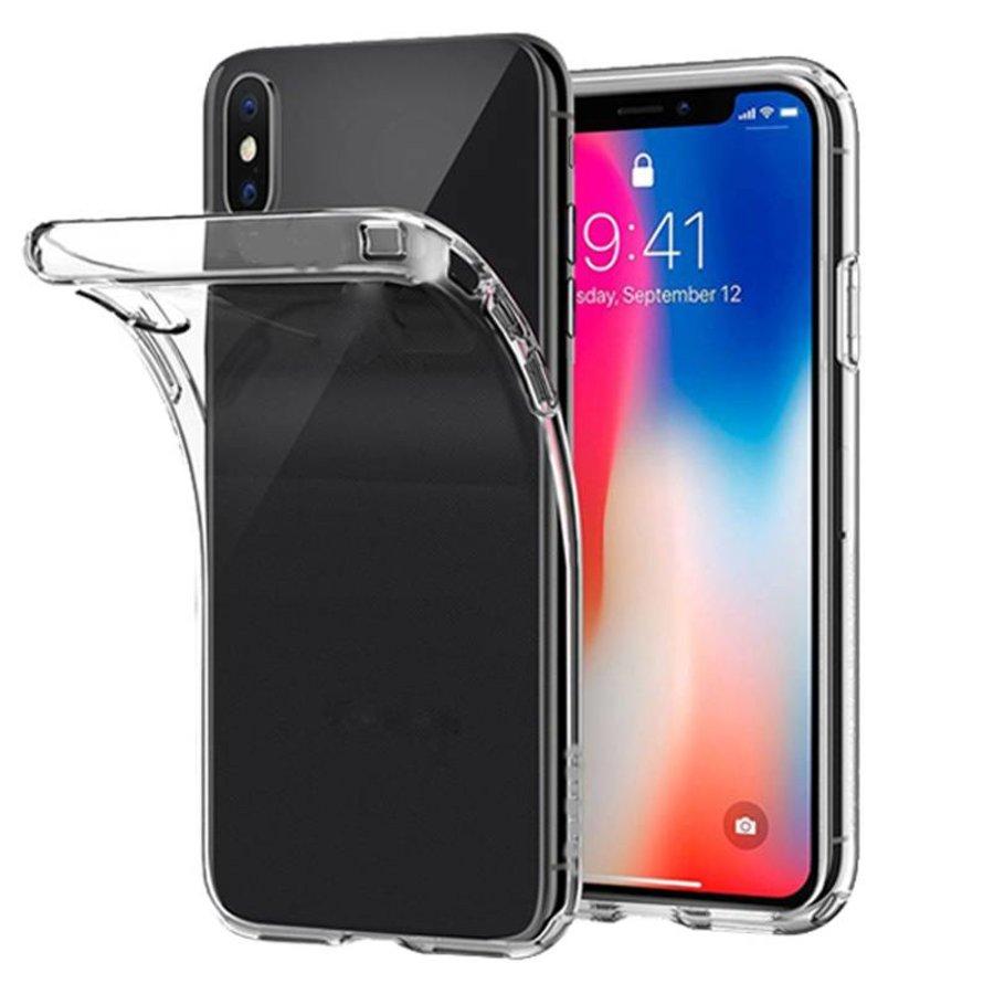 Transparant TPU Hoesje voor de iPhone X