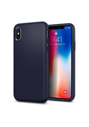 SPIGEN Midnight Blue Liquid Air Backcase iPhone X