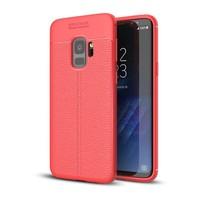 Just in Case Soft Design TPU voor Samsung Galaxy S9 Case Rood