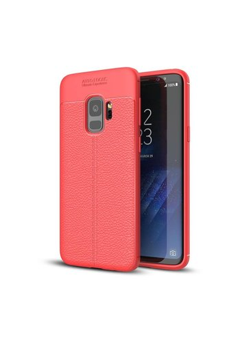 Just in Case Soft Design TPU Samsung Galaxy S9 Case (Rood)