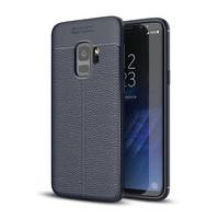 Just in Case Soft Design TPU voor Samsung Galaxy S9 Case Blauw