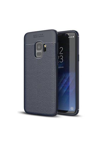 Just in Case Soft Design TPU Samsung Galaxy S9 Case (Blauw)