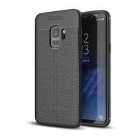 Just in Case Soft Design TPU voor Samsung Galaxy S9 Case Zwart