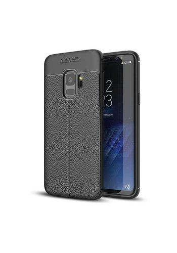 Just in Case Soft Design TPU Samsung Galaxy S9 Case (Zwart)