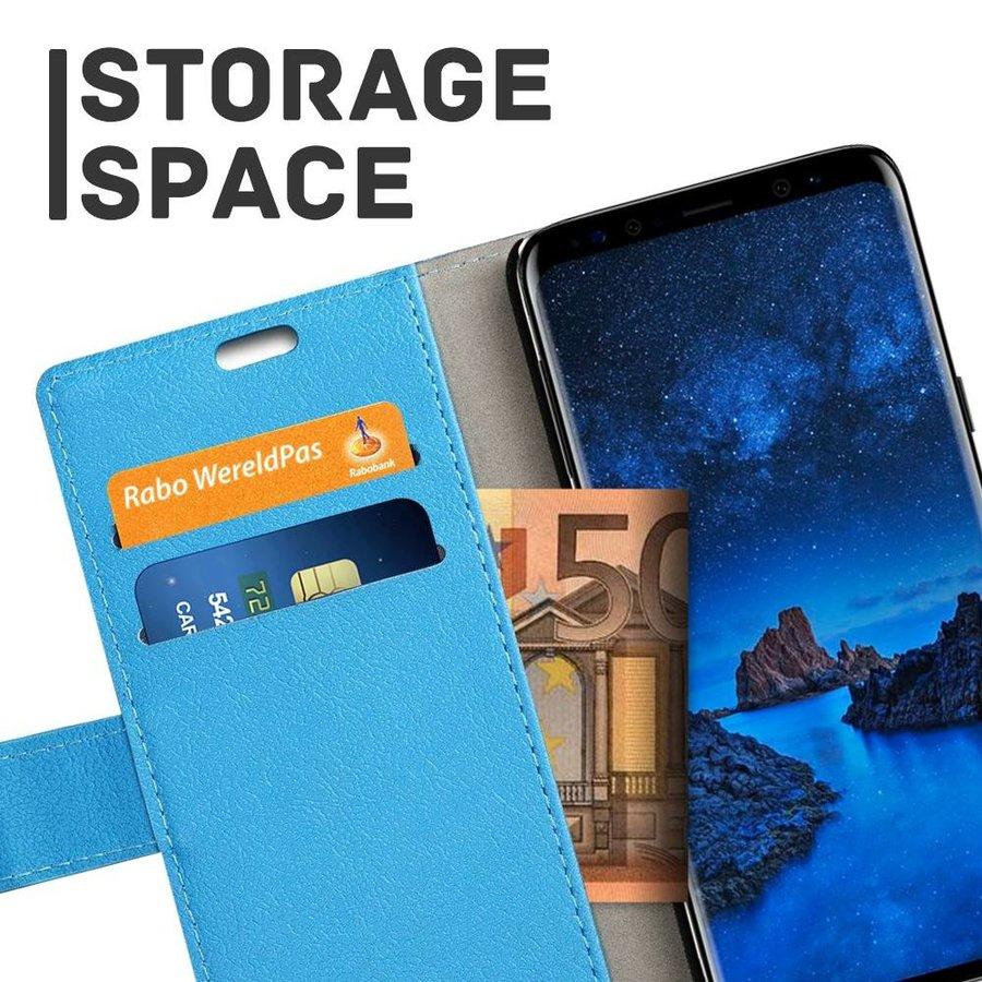 Just in Case Samsung Galaxy S9 Wallet Case Blauw