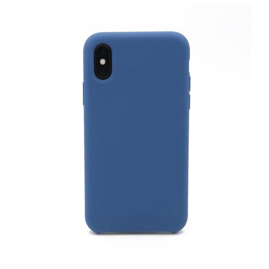 Blauw Siliconenhoesje voor de iPhone X