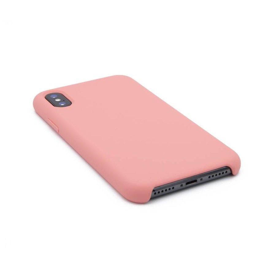 Roze Siliconenhoesje voor de iPhone X