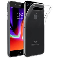 Just in Case Transparant TPU Hoesje voor iPhone 8 Plus