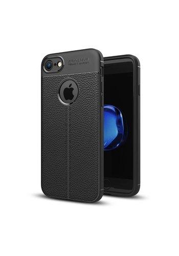 Just in Case Soft Design TPU Apple iPhone 8 Case (Zwart)