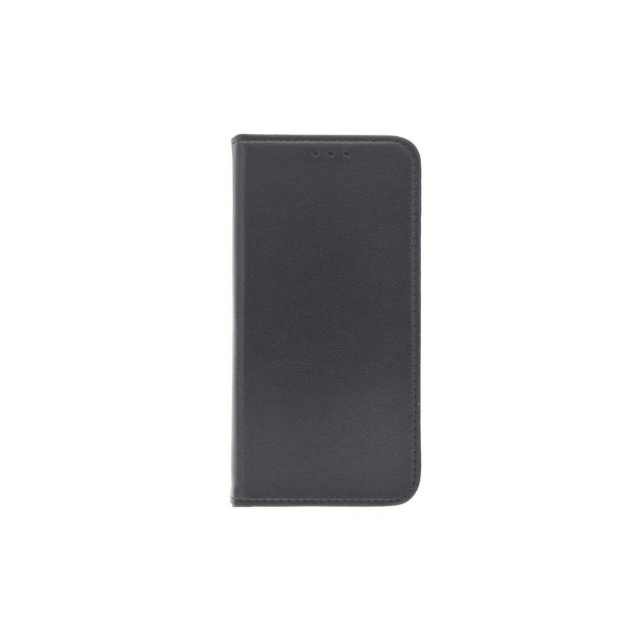 TPU Bookcase Zwart voor iPhone X