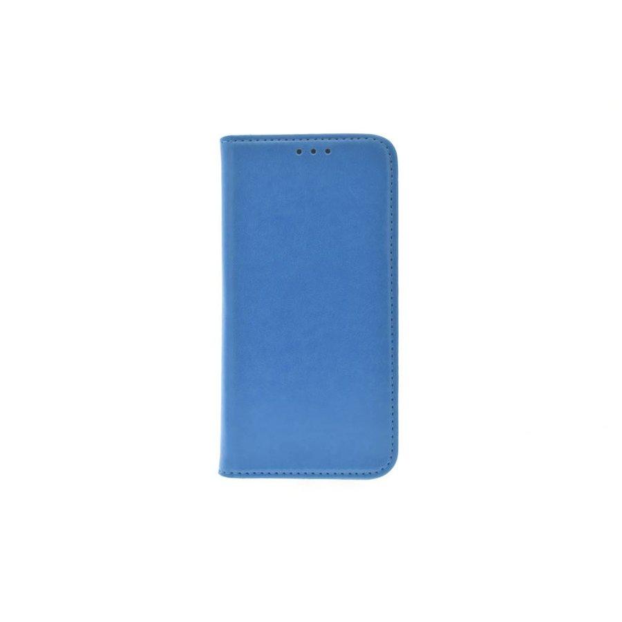 TPU Bookcase Blauw voor iPhone X