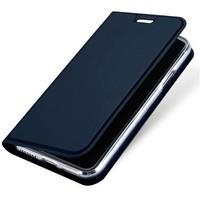 Dux Ducis Dunne Bookcase Blauw voor iPhone X