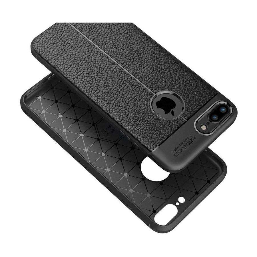 Just in Case Soft Design TPU Apple iPhone 7/8 plus Case (Zwart)
