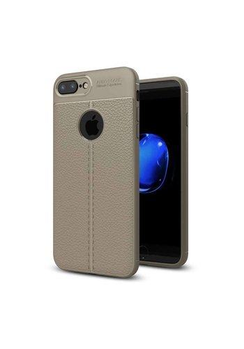 Just in Case Soft Design TPU Apple iPhone 7 Plus / 8 Plus Case (Grijs)