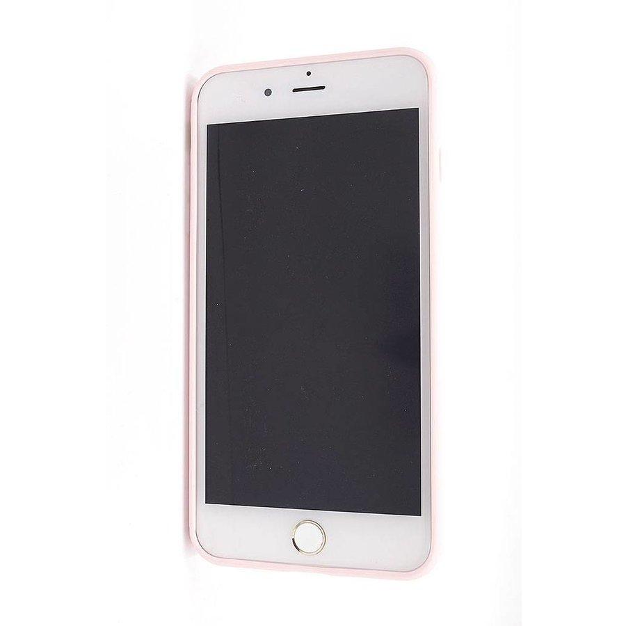 Vcase Lichtroze Siliconenhoesje voor iPhone 7/8 Plus