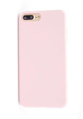 Vcase Lichtroze Siliconenhoesje iPhone 7/8 Plus