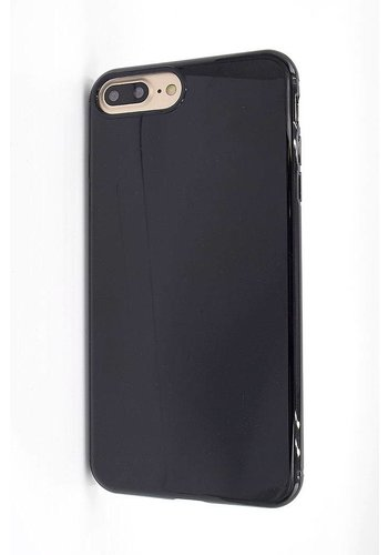 Vcase Zwart Siliconenhoesje iPhone 7/8 Plus