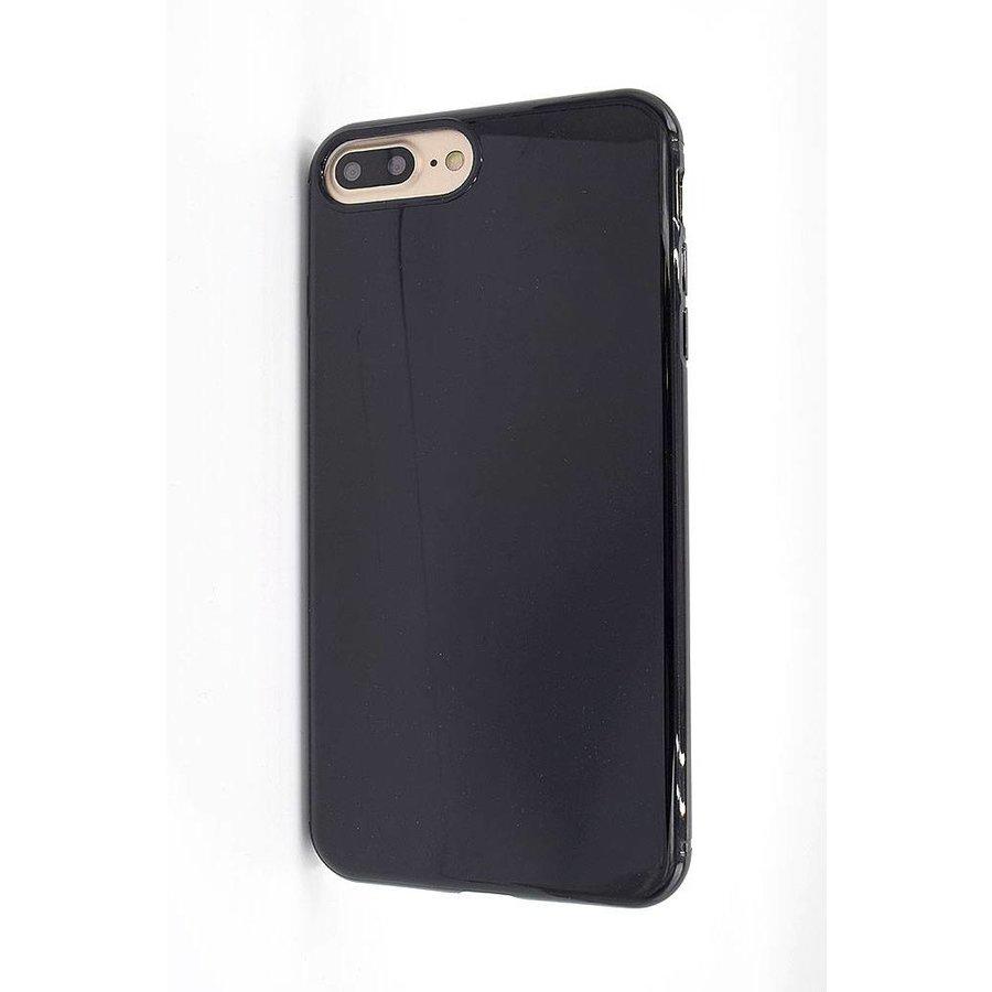 Vcase Zwart Siliconenhoesje voor iPhone 7/8 Plus