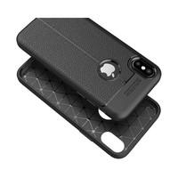 Just in Case Soft Design TPU Backcase Zwart voor iPhone X