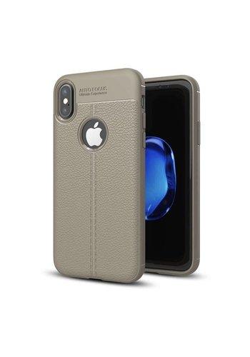 Just in Case Soft Design TPU Backcase Lichtgrijs iPhone X