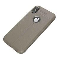 Just in Case Soft Design TPU Backcase Lichtgrijs voor iPhone X