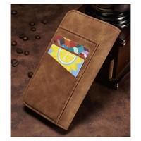 Just in Case Vintage Bookcase Bruin voor iPhone X