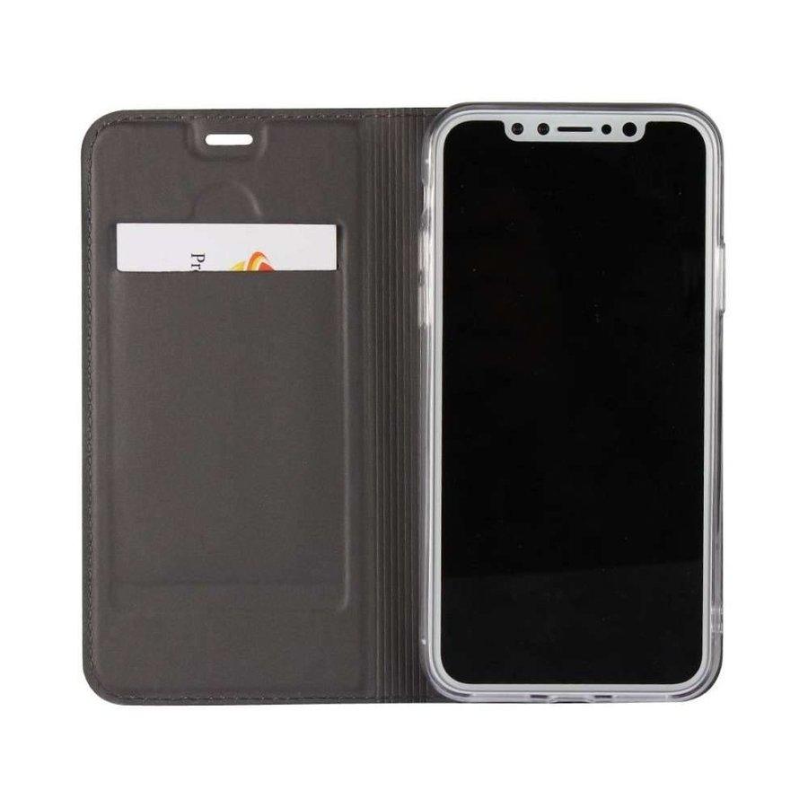 Just in Case Bookcase Zwart voor iPhone X