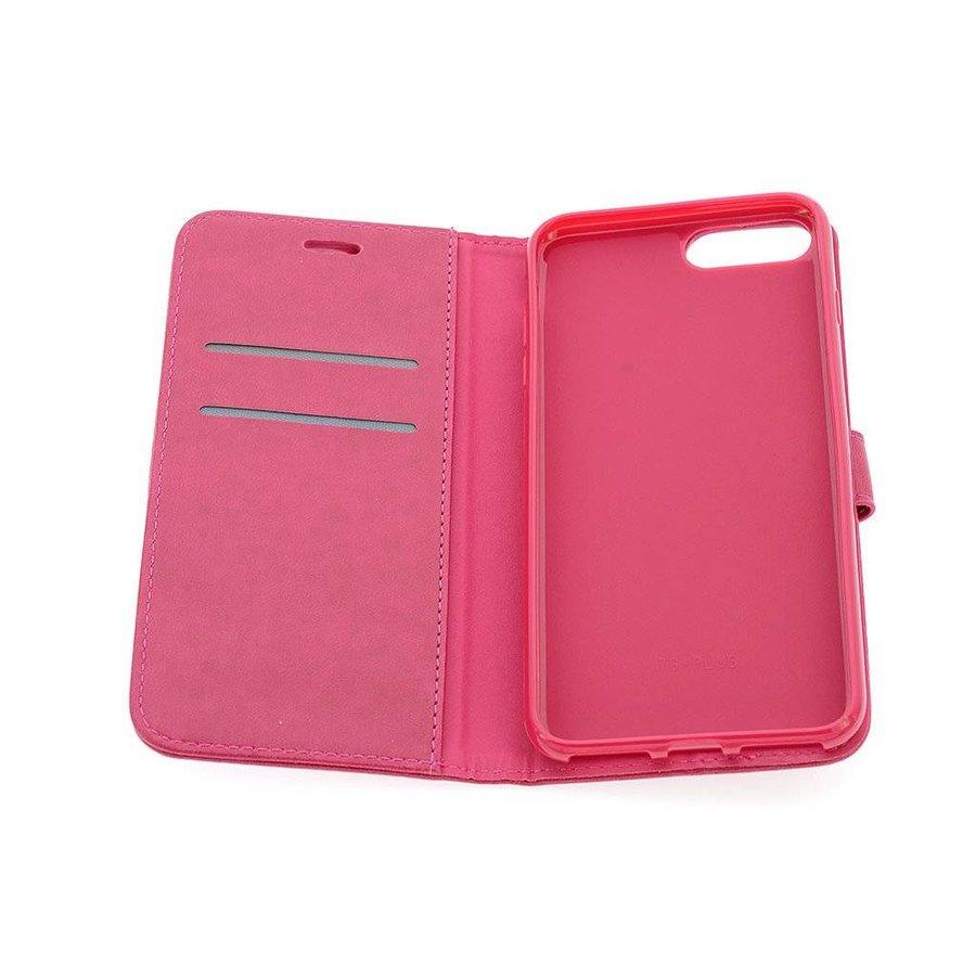 TPU Bookcase Voor Apple IPhone 7/8 Plus - Roze