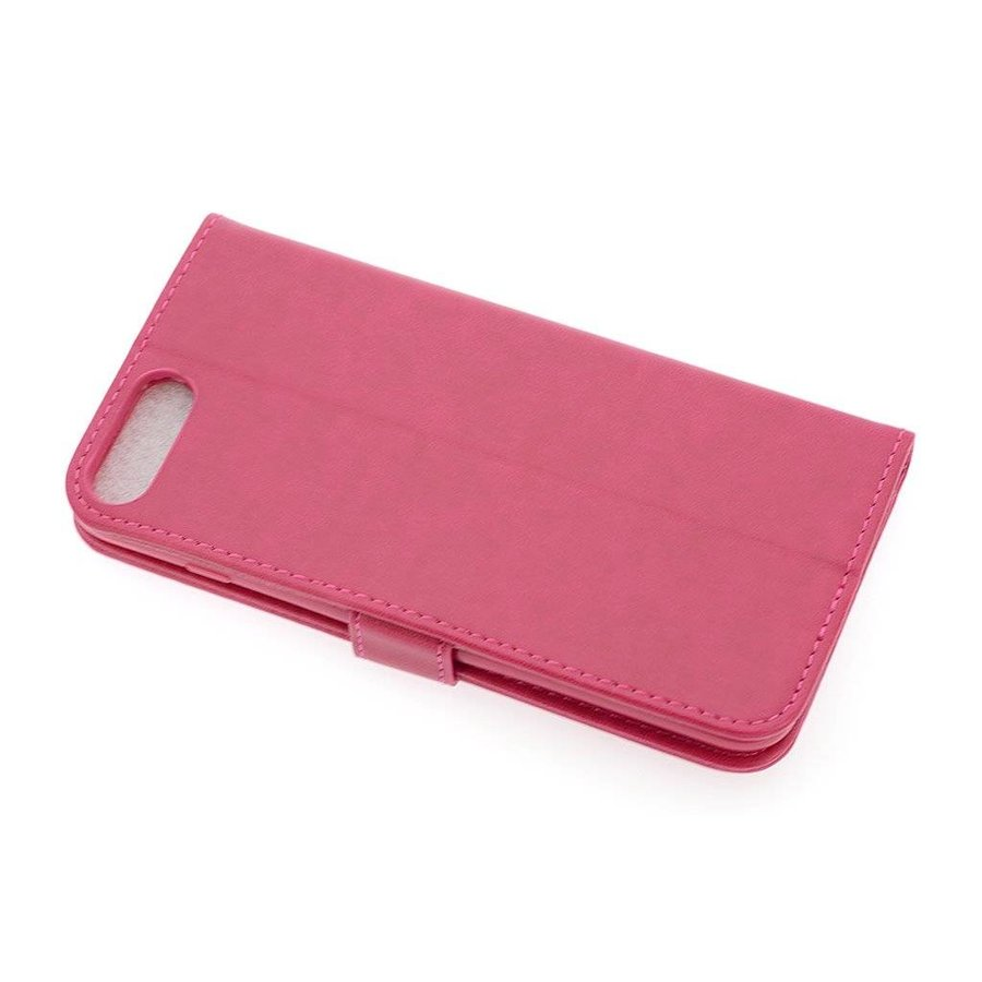 TPU Bookcase Voor Apple IPhone 7/8 Plus - Roze