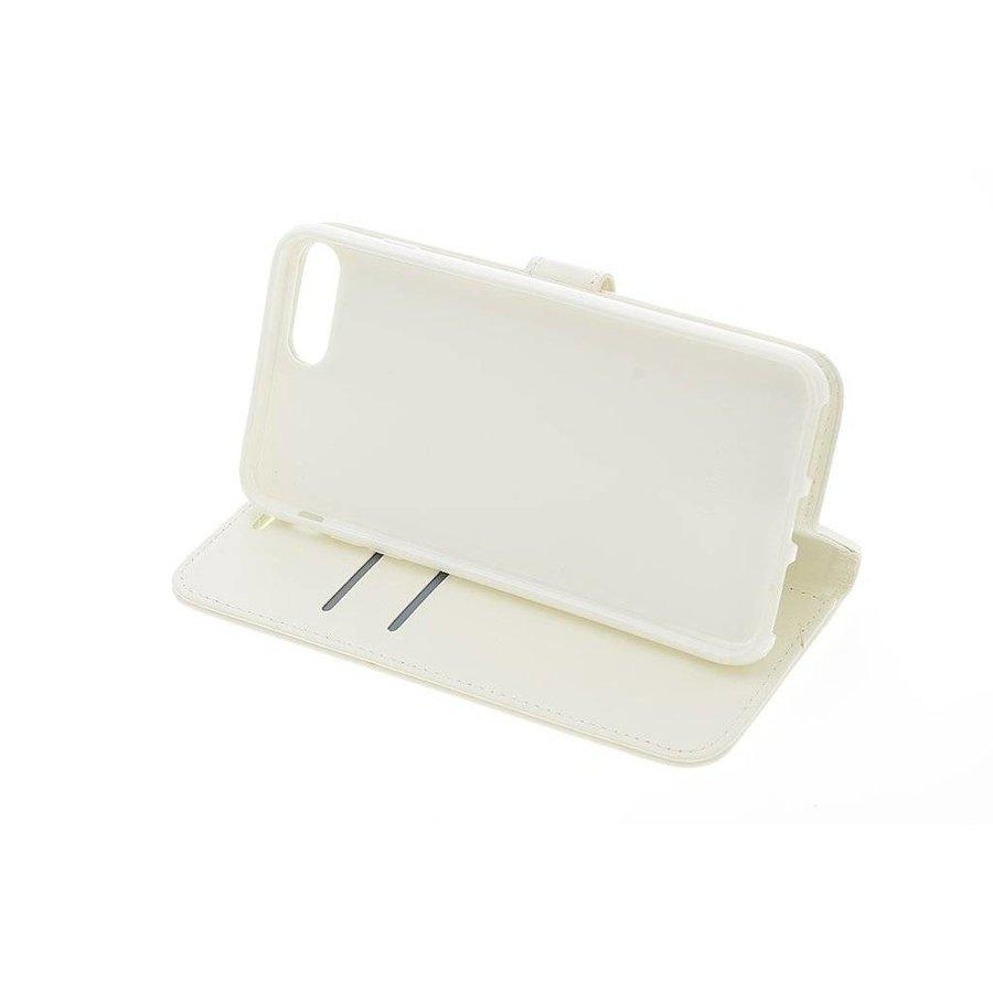 TPU Bookcase Voor Apple IPhone 7/8 Plus - Wit