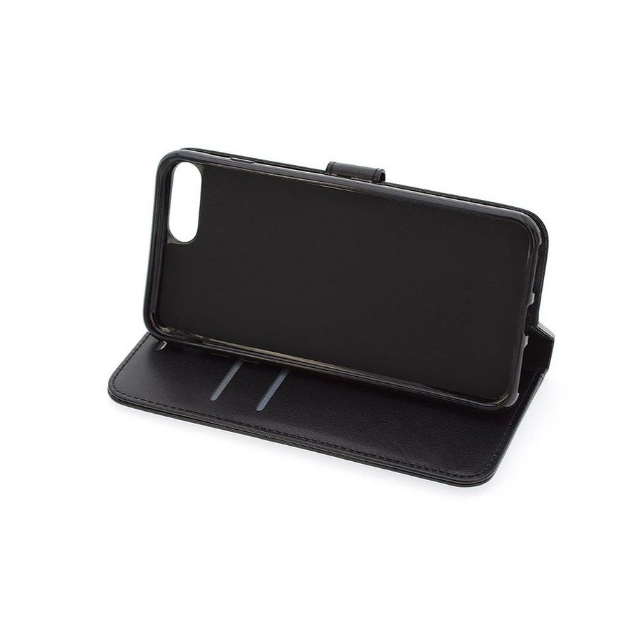 TPU Bookcase Voor Apple IPhone 7/8 Plus - Zwart